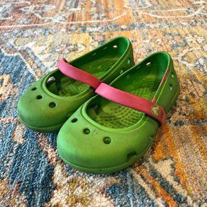 FREE with order - toddler crocs